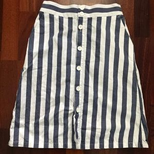 STRIPED SKIRT Seven and Seven size 8